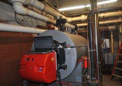 Billings Forge Boiler Testing