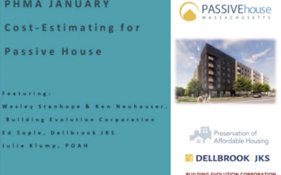 Cost Estimating for Passive House